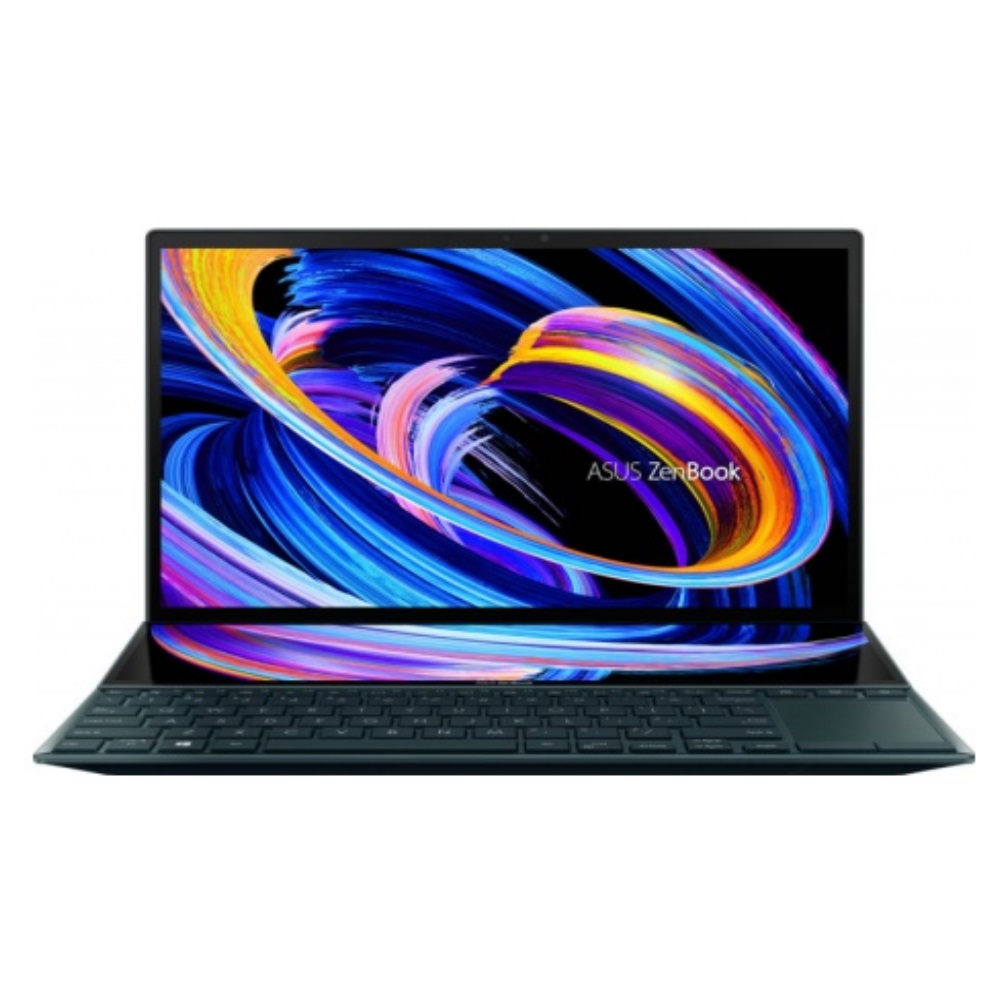 "Ноутбук ASUS Zenbook Duo 14 UX482EA-HY039T 90NB0S41-M02120  14""  LED 1920x1080 FHD / Multi-touch / Intel Core i5 / 1135G7 / 2400 МГц / Intel Iris Xe Graphics / 16 Gb / SSD / 1000 ГБ / Windows 10"