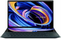 "Ноутбук Asus ZenBook Duo 14 UX482EG-HY010T Blue Core i5-1135G7/16Gb/512G SSD/14"" FHD Touch/NVIDIA MX450 2Gb/WiFi/BT/Win10"