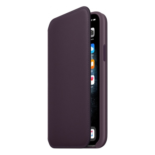 Чехол (флип-кейс) Apple для Apple iPhone 11 Pro Leather Folio фиолетовый (MX072ZM/A)