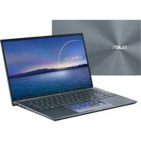 "Ноутбук Asus Zenbook 14 UX435EA-A5006T Pine Grey Core i5-1135G7/8Gb/512G SSD/14"" FHD IPS AG/Iris Xe Graphics/WiFi/BT/Win10 +сумка+кабель 90NB0RS1-M01610"