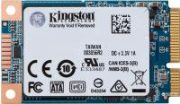 SSD mSATA Kingston 480Gb UV500 Series <SUV500MS/480G> (SATA3, up to 520/500Mbs, 85000 IOPS, 3D TLC, Marvell Dean)