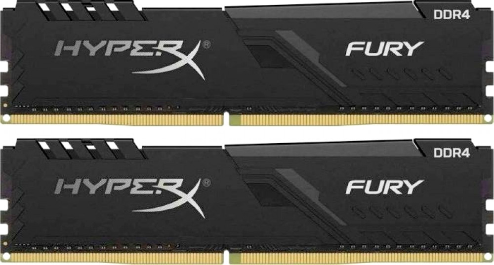 Оперативная память 16Gb 3200MHz DDR4 Kingston HyperX Fury (HX432C16FB3K2/16) (2x8Gb KIT)