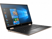 Ноутбук HP Spectre x360 13 i7-1065G7 16Gb SSD 1Tb Intel Iris Plus Graphics 13,3 FHD IPS TouchScreen(MLT) BT 4795мАч Win10 Черный  8PN73EA