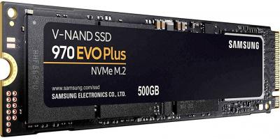 Твердотельный накопитель 500Gb SSD Samsung 970 EVO Plus Series (MZ-V7S500BW)